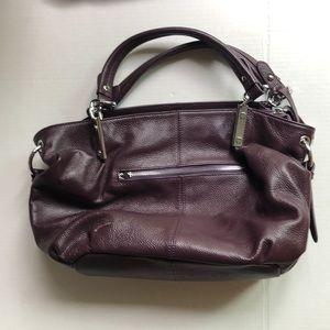 Genuine leather Heshe satchel